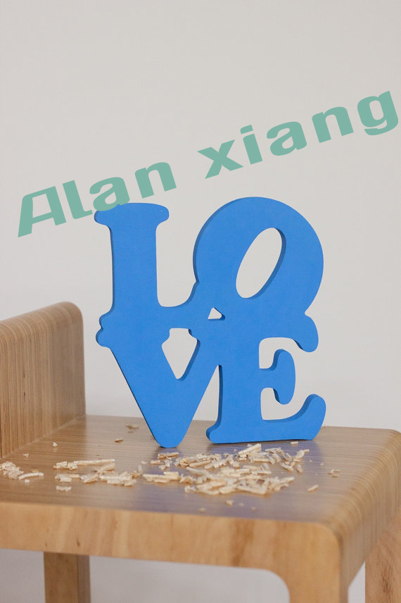 Free Shipping Love Sign Wedding Decoration Wall Hanging