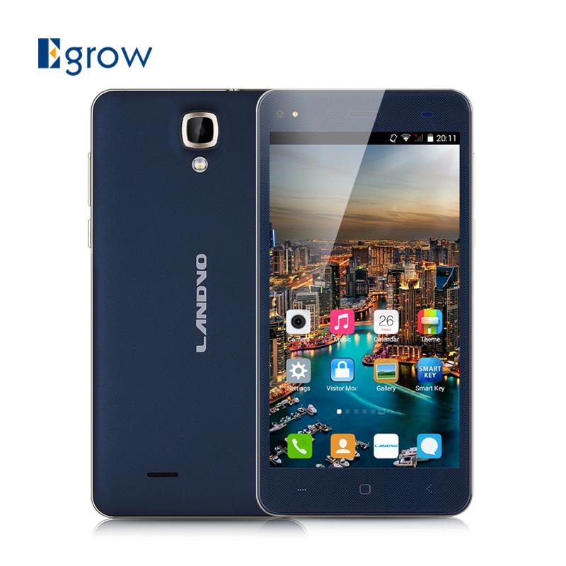 Original Landvo V8 Unlocked Cell Phone GSM/WCDMA Network Dual SIM Android 4.4.2 Mobile Phone 5.0 Inch MTK6572M Smartphone(China (Mainland))