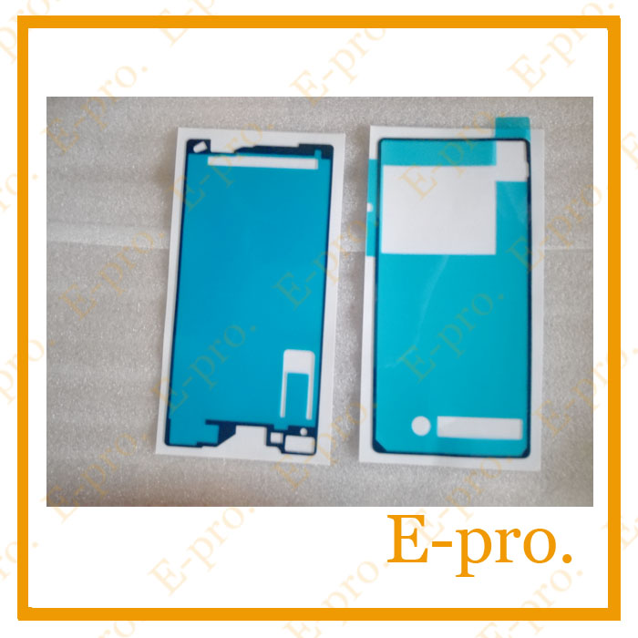 Battery Back Door +LCD Frame Bezel Plate Adhesive Sticker Sony Xperia Z2 D6503 - E-Pro Electronic Co., LTD store