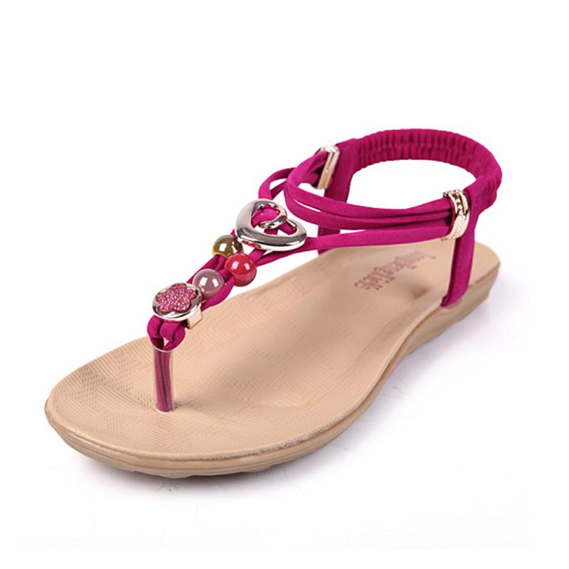 New women summer sandals 2016 fashion bohemia women's ...
