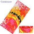 Coromose 2017 Sport Bicycle Multi Functional Bandana Headband Camouflage Leaves Seamless Tubular Magic Bandanas Tube Ring