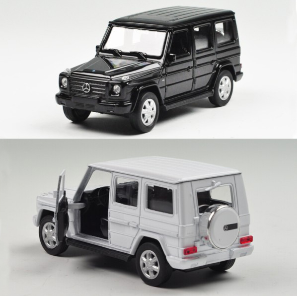 Hot Sale welly 1:36 Mercedes G - Class simulation alloy toy car model for baby gifts(China (Mainland))