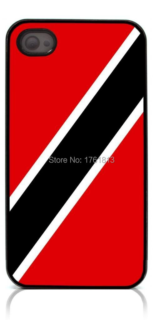 Trinidad and Tobago flag phone case for Iphone 4 4s 5 5s 5c 6 6plus Samsung galaxy A3 A5 A7 S3 S4 S5 Mini S6 Edeg Note 2 3 4(China (Mainland))