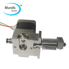 3D Printer All Metal BullDog Lite Extruder E3D V6 hot end kit set 1 75mm hotend