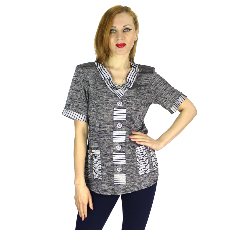 Women Fashion Short Sleeve O Neck Casual Loose Graphic Tees Pullover T