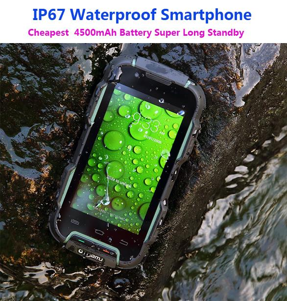 Original Mtk6582 Quad Core Discovery V11 Rugged Smartphone