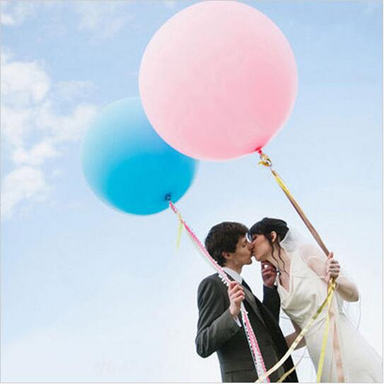 Big Balloon Helium Inflate Latex Balloons For Birthday Wedding Birthday Party Decoration Toys(Blow Up 36 Inche/91cm) V062401(China (Mainland))