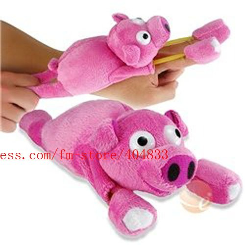 Mix order 100 Pcs/Lot Flying Pig toy/ flying Screaming Slingshot pig+Rosh Certificated Quality+EMS Free shipping