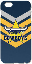 North Queensland Cowboys For iphone 4 4S 5 5S SE 5C 6 6S Plus For iPod Touch 4 5 6 Back Skin Hard Cover Mobile Phone Bags Cases