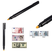 Brand New Design Money Checker Counterfeit Detector Banknote Tester Pen Mult-Function(China (Mainland))