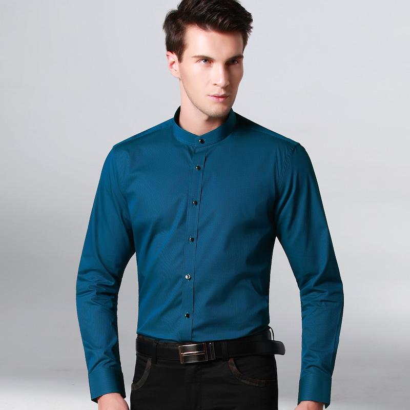 new mens long sleeve striped solid shirts mandarin collar cotton brand clothing men fit designer fahsion casual shirt springОдежда и ак�е��уары<br><br><br>Aliexpress