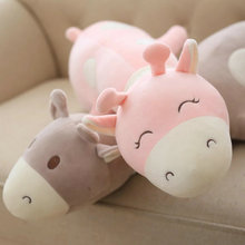 Buy kids doll pink/gray Cute Deer Plush Toys 43cm Stuffed Soft comfy plush pillow Cushion Baby pacify Doll Children ) for $17.99 in AliExpress store