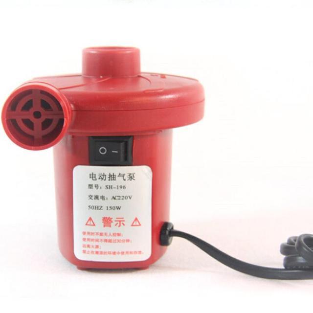 Двойной вакуумный электрический воздушный насос накачивайте выкачать игрушки детский ...