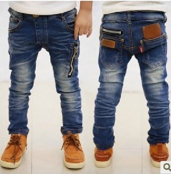 DK0095 free shipping new fashion boys leisure jeans boys trousers Korean version children pants for spring & autumn & winter