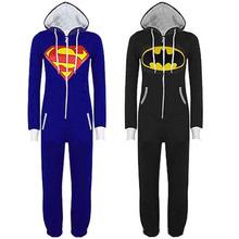 Pyjamas Superhero Adult Onesies