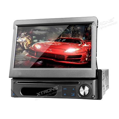 """7"""" Pure Android Single 1 Din Car DVD GPS Player HD 1080P Video Touch Screen Detachable Face Panel Wifi Bluetooth Radio Stereo(China (Mainland))"""