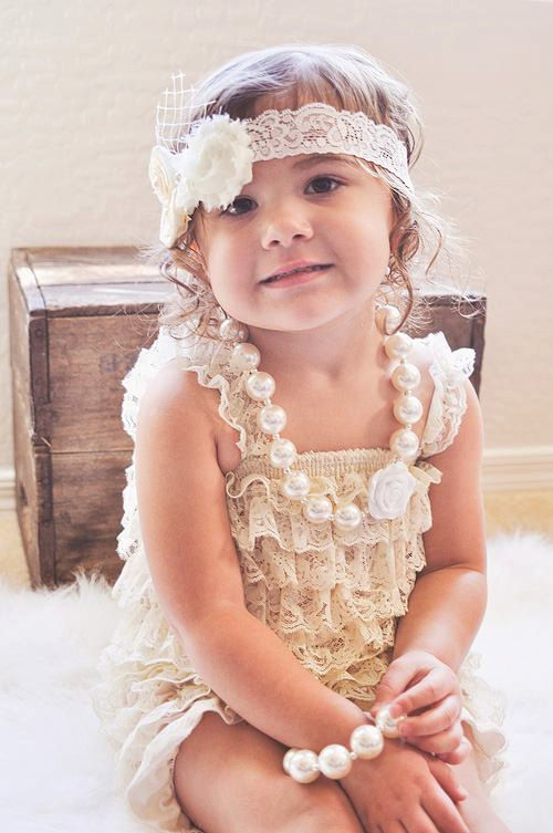 Beige cream Lace Romper,baby girls ruffle party dress,twins,photo prop,petti romper,baby romper,petti top,cream,ivory,champagne(China (Mainland))