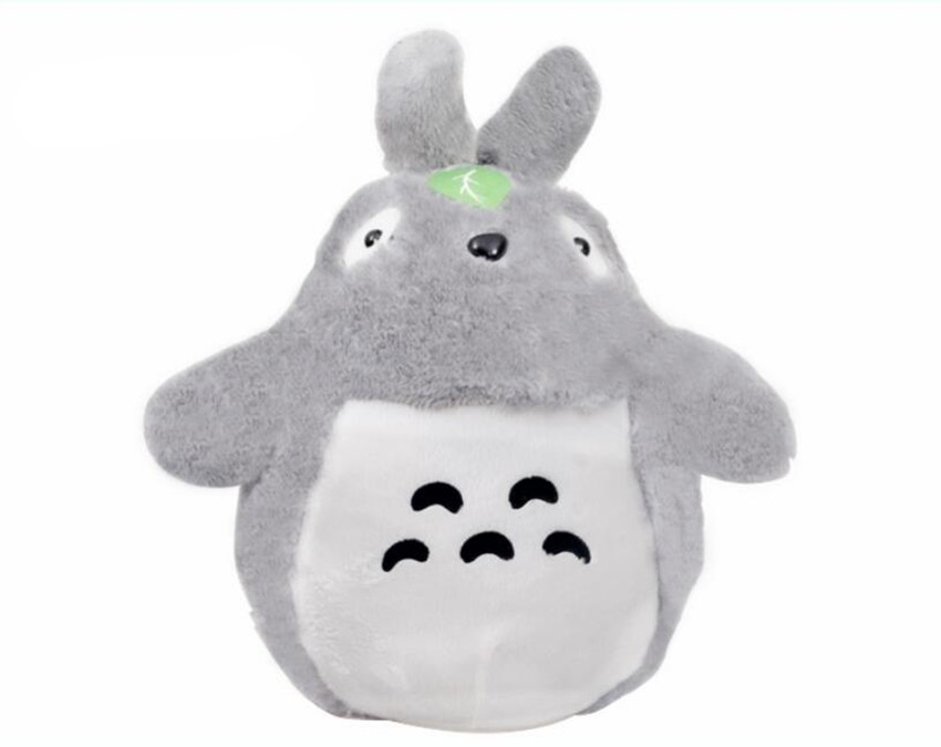 45cm One Piece Cute Kawaii TOTORO Plush Doll PP Cotton Filled Unisex Kid's Birthday Gifts Soft Stuffed Toy(China (Mainland))