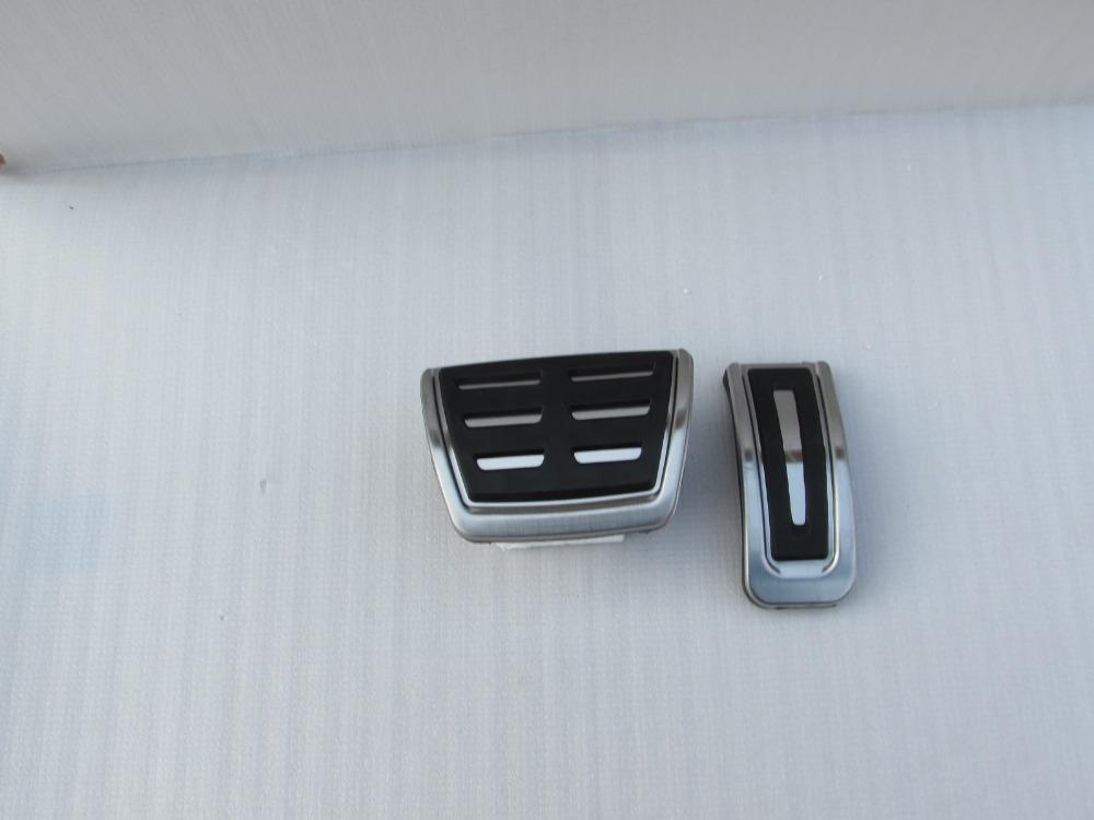 Design Stainless steel Accelerator Pedal Volkswagen VW Polo Bora Golf MK4 IV Jetta Lavida Santana Skoda Superb Fabia - Enjoy car home store