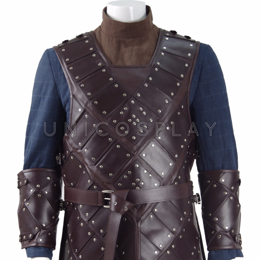 Game Of Thrones Season 6 Jon Snow Stark Armor Cosplay ...