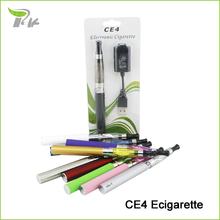 Free Gift CE4 Ego Vaporizer Smoke Vape Pen Electronic E Cigarette Cigarro Eletronico CE4 Ego Kits