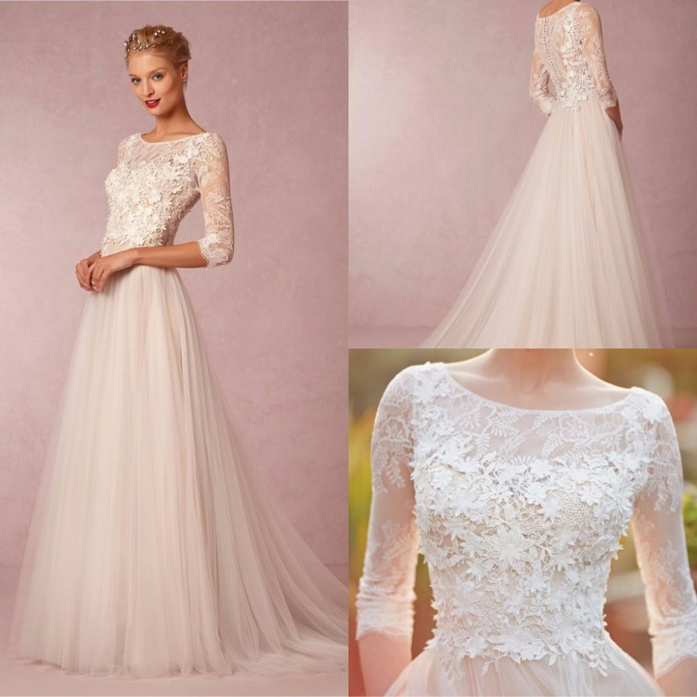 Buy Spring Simple Wedding Dresses A Line