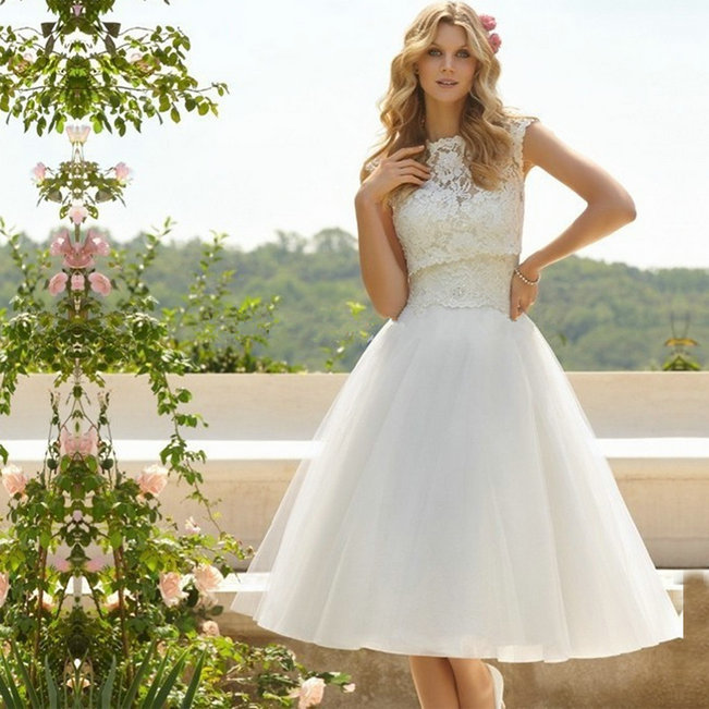 on sale ball gown wedding dress 2016 short wedding dress