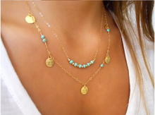 Beauty Rehinestone Two Layers Jewelry Gifts Chain Necklaces & Pendants 2 Color Necklace Women Accessories Pendant Free Shipping