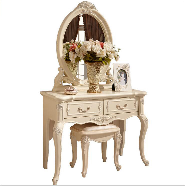 white European mirror table dresser French bedroom furniture  pfy10146<br><br>Aliexpress