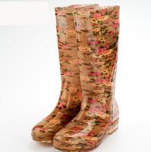 2016 New  thicken plush rain boots women's/ladies's antislip flats Shoes outdoor waterproof fashion boots(China (Mainland))