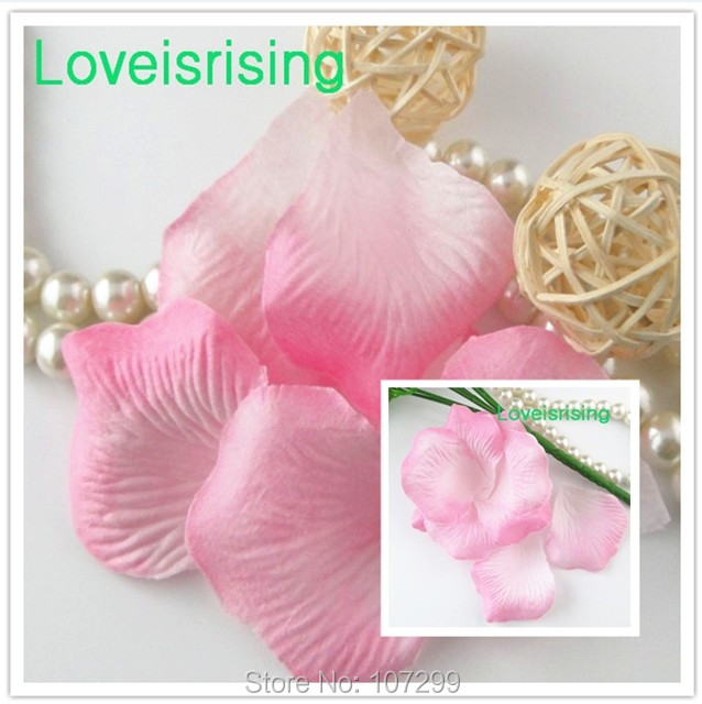 5 packs(720pcs) Baby Pink Non-Woven Fabric Artificial Rose Petal For Wedding Party Decor Accessories-Free Shipping(China (Mainland))