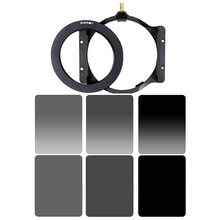 Zomei Square 100mm *150mm Neutral Density Filter Full Color Grey ND4 ND8 ND16 Gradient Grey ND 4 8 16 Set for Cokin Z pro.(China (Mainland))
