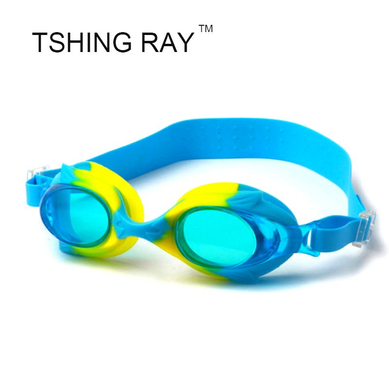 Anti-fog UV Shield Protection Adjustable Kids Boys Girls Children Goggles Water Resistant Cute Glasses Beach