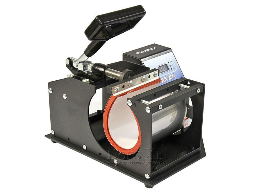 Купить Бесплатная доставка Кубок передачи тепла машина 1 в 1 Машине Передачи Тепла сублимации машина DX-021 Печатная Машина для Кружки