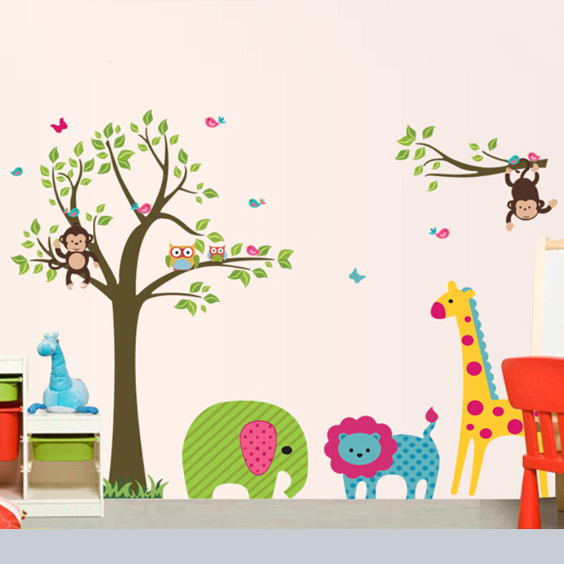 vinyl 3d children bedroom wall stickers for kids in wall stickers