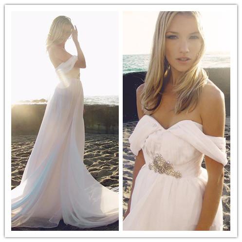 Popular greek goddess wedding gowns buy cheap greek for Goddess style wedding dresses