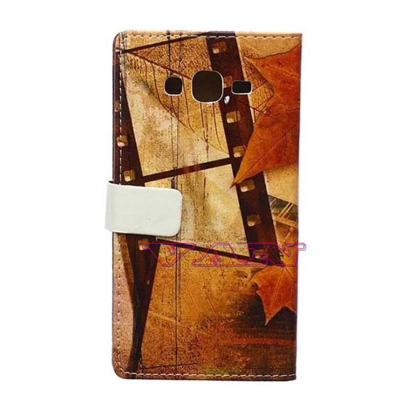 romantic autumn maple french eiffel tower for samsung Series phone cases fit usb card slots wallet for samsung J5 cover case(China (Mainland))