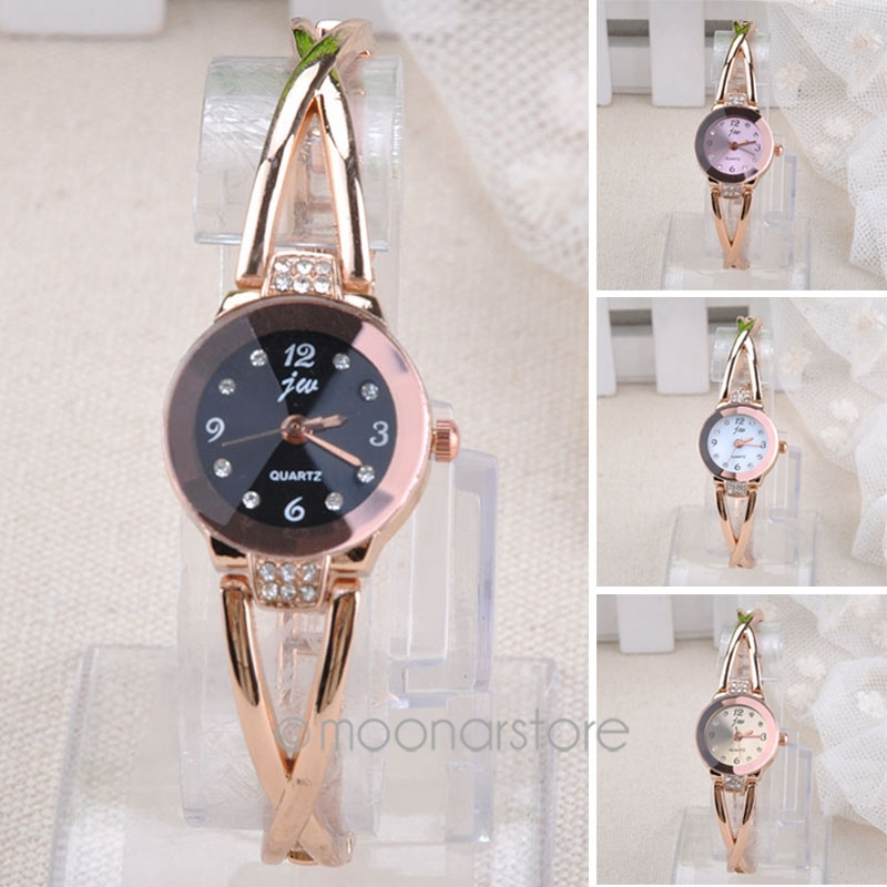 NEW FASHION Elegant Princess Ladies girls Quartz Analog Bracelet WristWatches with Rhinestones Decor for Women zx*MHM526#c3(China (Mainland))