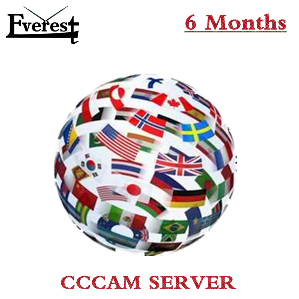 Best CCcam Europe Cline Server 6 Months for Spain UK Germany France Italy Portugal for Most Satellite Decoders 3 in1 RCA Cable(China (Mainland))