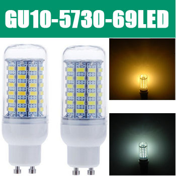 Led Bulb Lamps 360 Degree GU10 25W 5730 SMD 69 Energy Saving White Warm LED Corn Light Lamp 220V ZM00818 - Hua Shang Tripod CO., LTD store