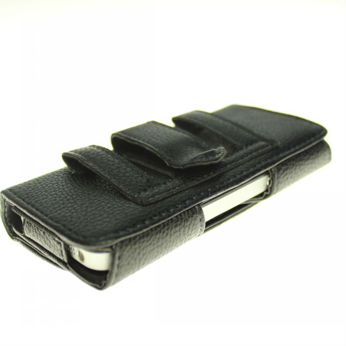 HK post Leather Belt Clip Case Cover Pouch Iphone 5 5g Cell Phone Accessories phone cases - Tokohansun Store store