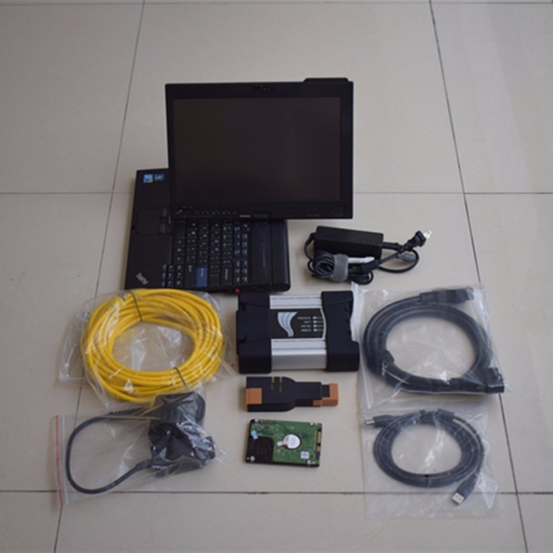 For Bmw Icom Next Isis Isid B C With Laptop X201t I7 4g