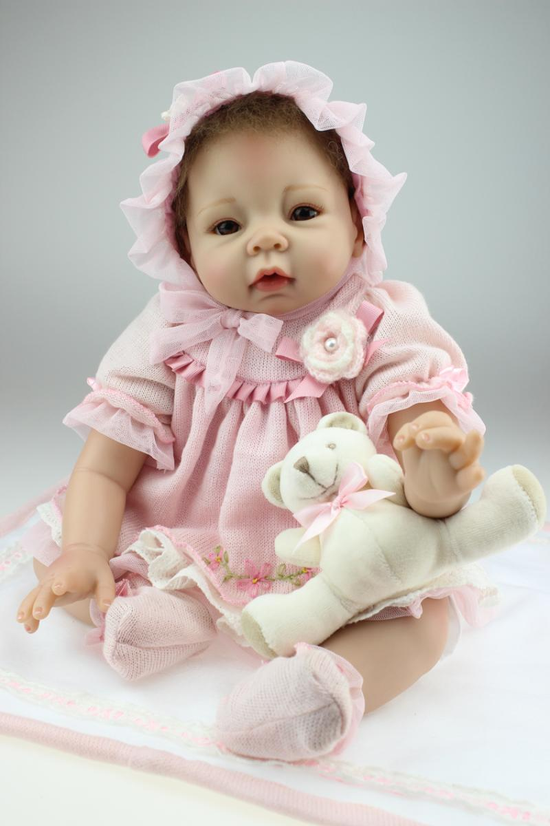Hot simulation Baby Doll Girl Toy Gift reborn mother training<br><br>Aliexpress
