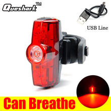 Buy Rechargeable COB LED USB MTB Mountain Bike Tail Light Taillight Night Cycling Safety Warning Bicycle Rear Light Bicycle Lamp for $6.50 in AliExpress store