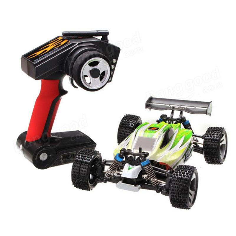 WLtoys A959-B 1/18 4WD Buggy 70km/h Highspeed Off-Road 1:18 RC Car 2.4G Radio Control Truck A959 Updated Version free shipping