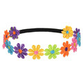 SCYL Children s Colorful Sunflowers Headband Hair Band Head Hoop With Black elastic band Colorful