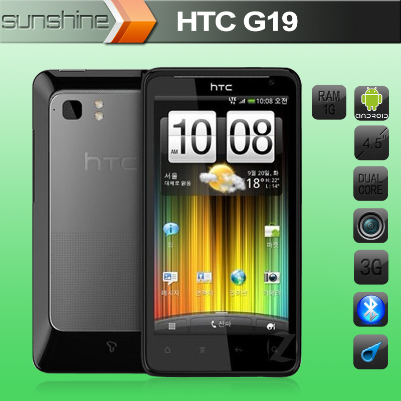Unlocked Original HTC X710e G19 Raider 4G Mobile Phone 4 5 QQualcomm 1536Mhz 1GB 16GB Refurbished