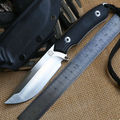 Bolte Lion newest D2 blade G10 handle fixed blade hunting knife KYDEX Sheath tactical camping survival
