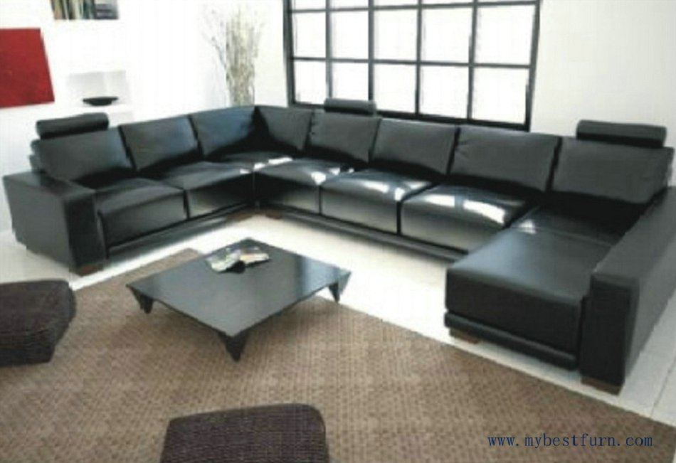 Shipping Large U Shaped Cofortable High Quality Living Room Furniture