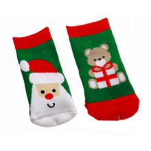 0-2 year old cotton baby boy girl socks for Christmas winter child socks for Xmas children kids Christmas gifts presents sock
